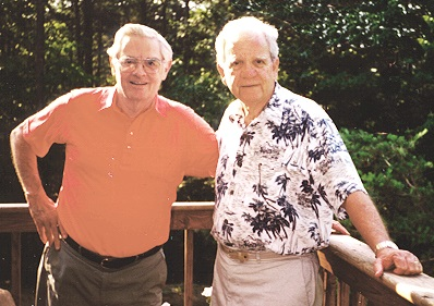Lou Ives (left) and Bob Neely    Earlysville, Virginia    June 2000