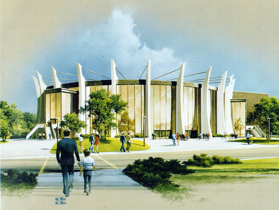 proposed Civic Center for Massillon, Ohio