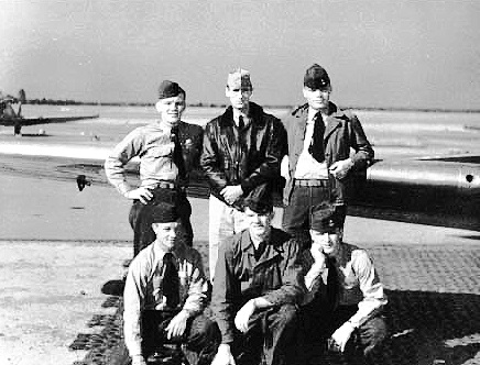 top row: 	Foster, LTjg Clayton, Whitten  bottom row: 	Howard, Doll, and Bosworth