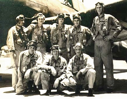 front row: 	Whitten, Instructor LT Sargent, and Howard  back row: 	LT Hambsch, Cheshire, Doll, ENS Plummer,   	and ENS Gatewood