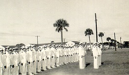 Carrier Air Group 4 Officers' Inspection at NAS Jacksonville