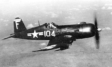 I am flying my F4U-5 of VF-41.
