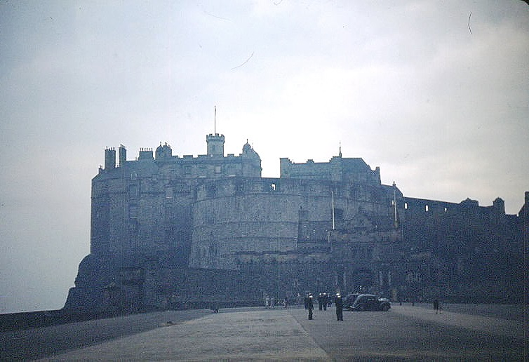 Edinburgh Castle    28 Sept 52