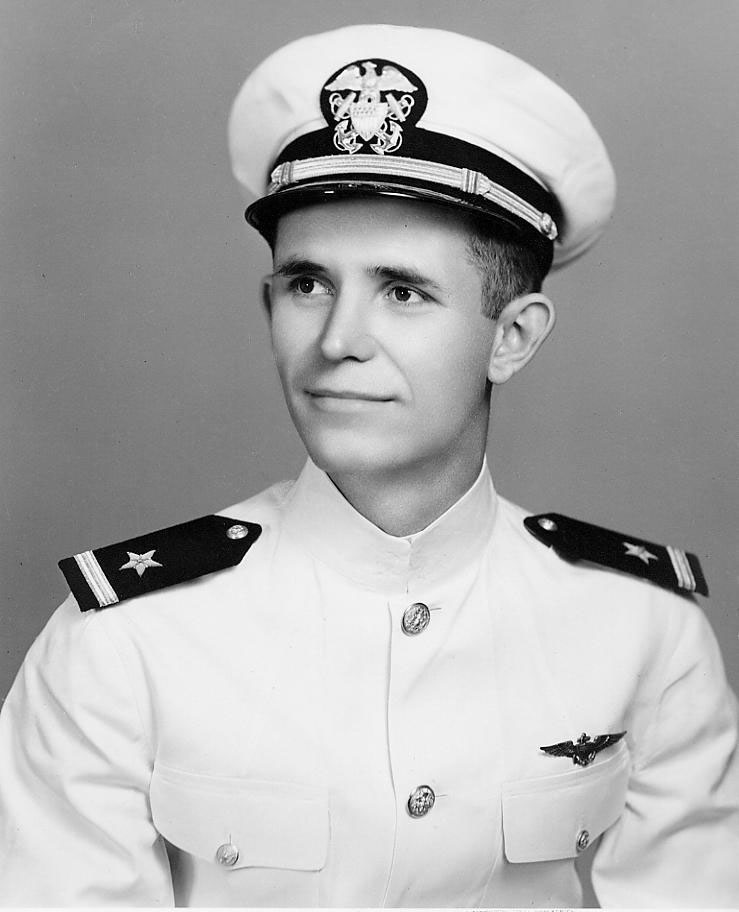 Midshipman Harley D. Wilbur received his commission as Ensign USN          19 May 1950