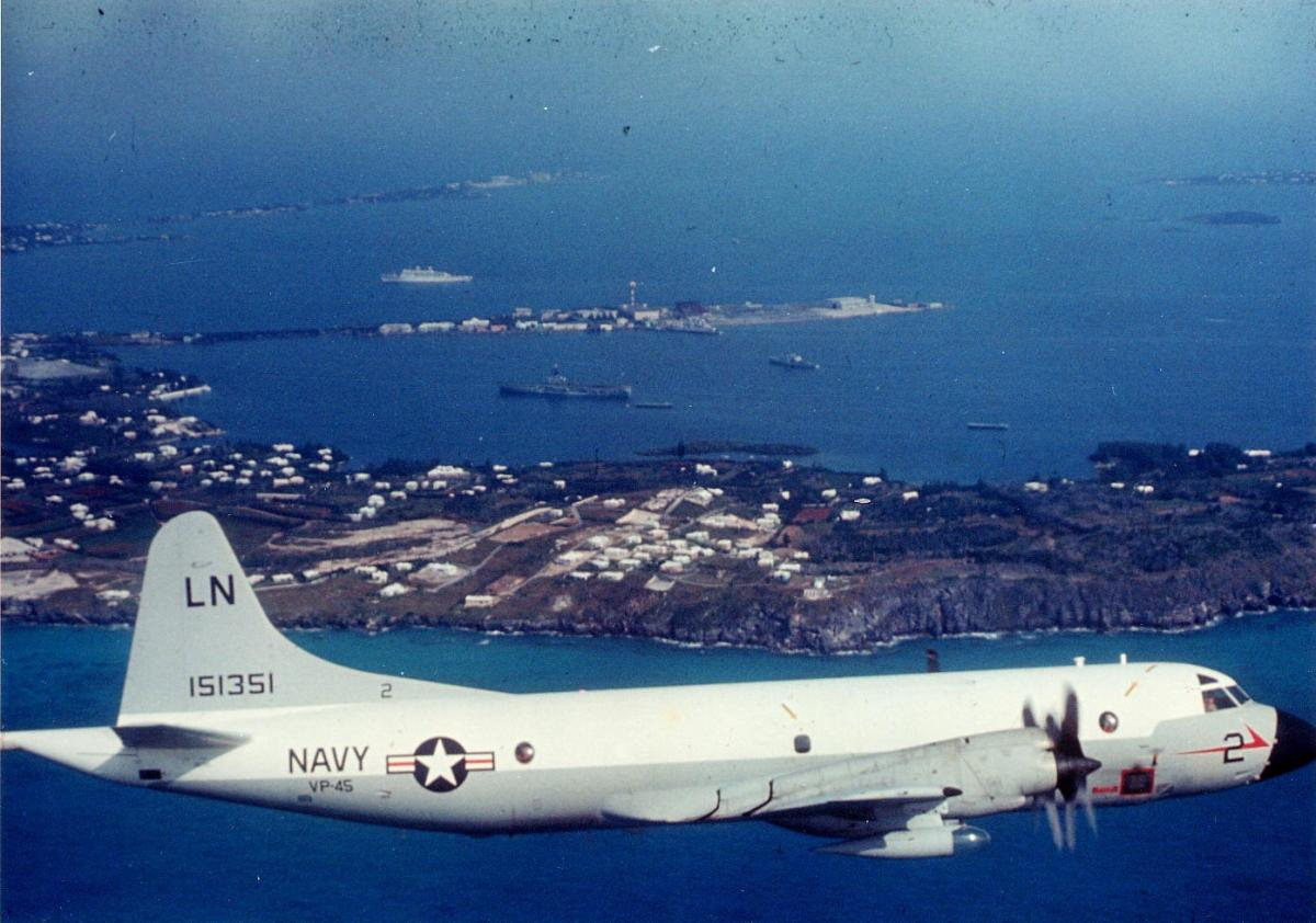 "4th Squadron: Patrol Squadron FORTY-FIVE, NAS Jacksonville, Florida,  1966-1968. P3A ""Orion"" Aircraft. (Commanding Officer)"