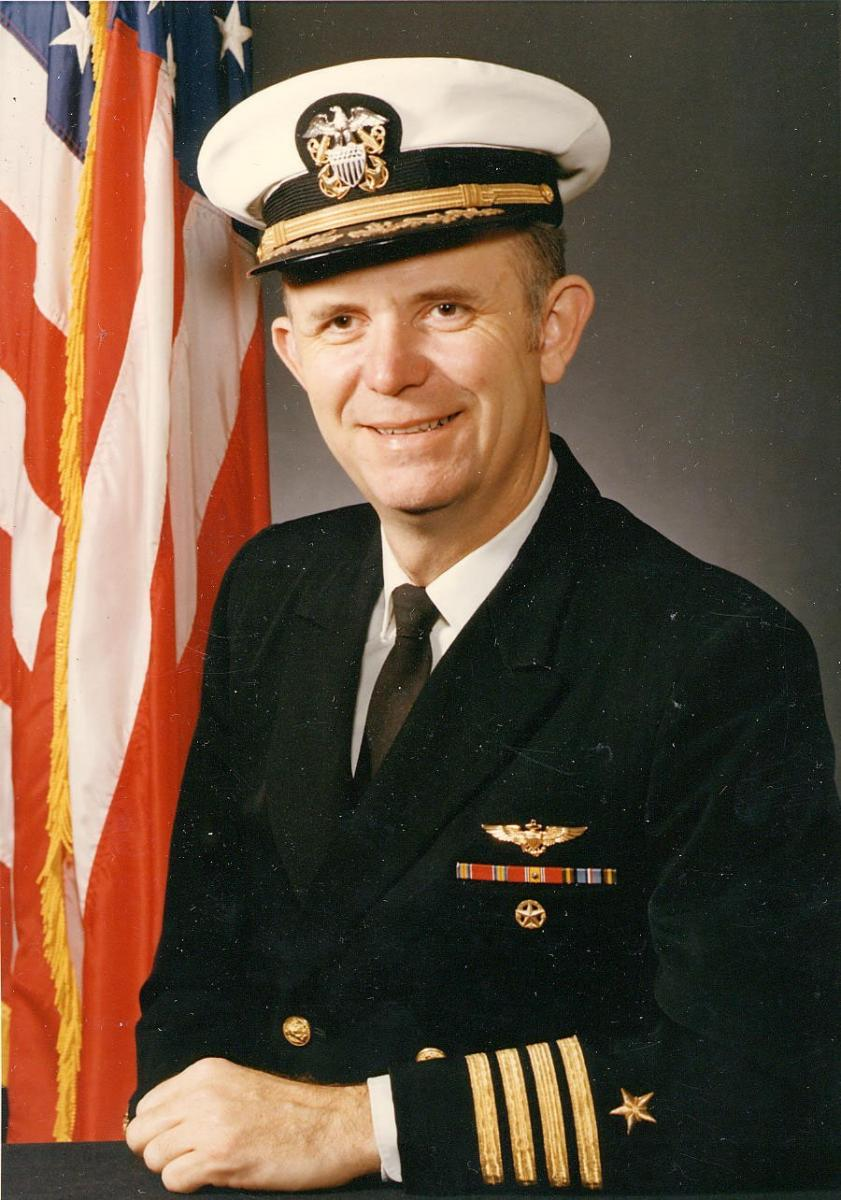 Captain Wilbur, OP-96, The Pentagon, 1972