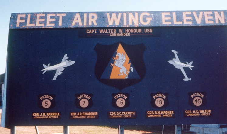VP 45 was part of Fleet Air Wing ELEVEN at NAS Jacksonville, Florida