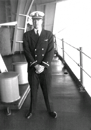 VA-35 aboard USS Leyte about September 11, 1950